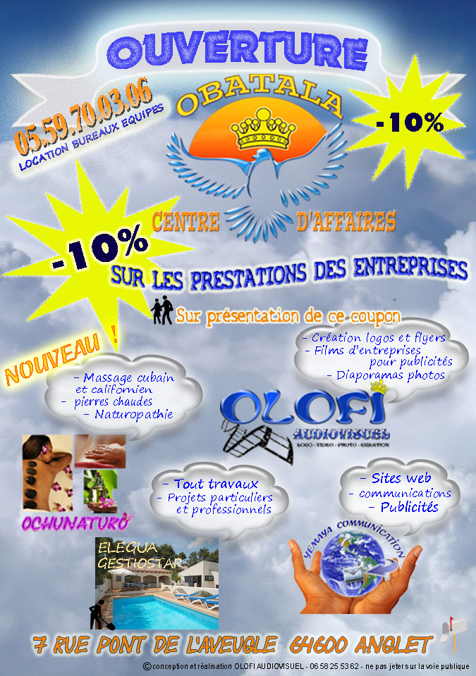 creation de flyers